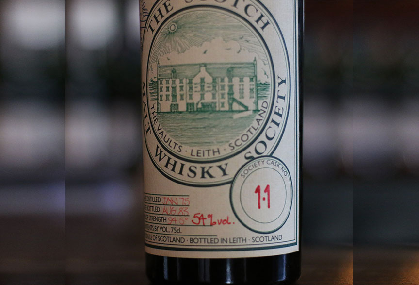 First SMWS Bottle